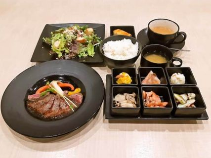 ランチセット・伊賀牛ステーキ